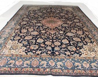 Large Ghoum Persian carpet