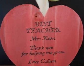 Teacher's Apple Plinth