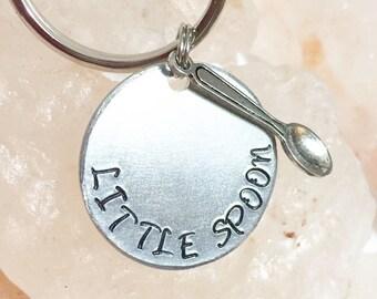 Little Spoon Key Chain, Anniversary Gift, Birthday Gift, Gift for Boyfriend, Gift for Girlfriend, Big Spoon Little Spoon