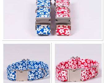 Daisy dog collar - available in 2 colours