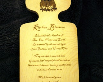 Kitchen Blessing Cheese Board