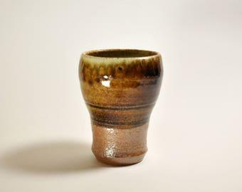 Woodfired, Saltfired, Ceramic, Tumbler, Crystal Glaze, Wheelthrown, Ceramic