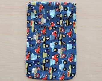 Diaper Clutch, Diaper Pouch, Diaper Bag, Baby Shower Gift,Robert Kaufman fabric, Shower Gift, Diaper Holder, Bag Organizer, Wipes Case