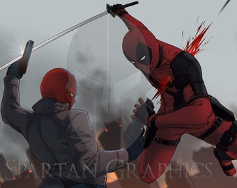 Deadpool Vs Red Hood