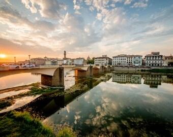 Florence, Italy Print, Renaissance, Cityscape, Florence Wall Art, Florence Print, Italy Photography, Florence Sunset, Florence Italy Print