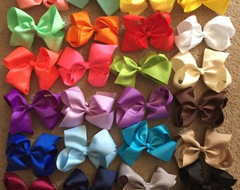 Girls 6in. Hairbow