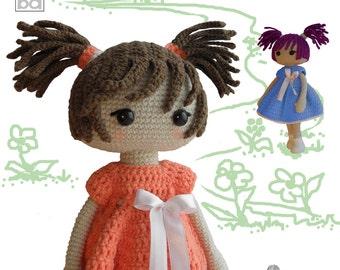 crochet pattern amigurumi doll - Anne, crochet doll, amigurumi pattern, amigurumi doll, amigurumi, crochet doll pattern, crochet pattern,PDF