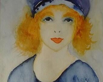 Portrait of a woman: Florence