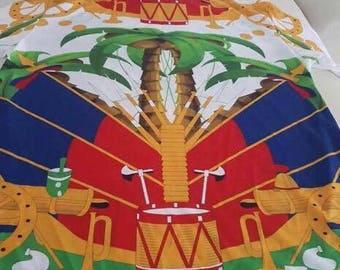 Haitian flag day T SHIRT WHITE EDITON
