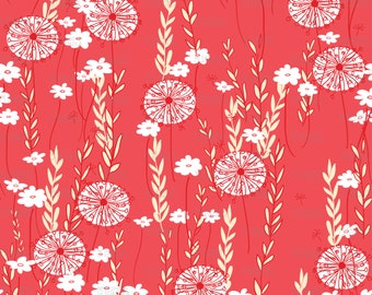 Wildflowers Fabric by ZoeCharlotte