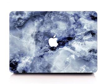 Deep Blue Cloud Marble MacBook Case, MacBook Hard Case, MacBook Air Protection, MacBook Pro 2016 Touch Bar, MacBook Pro Retina Hard Case