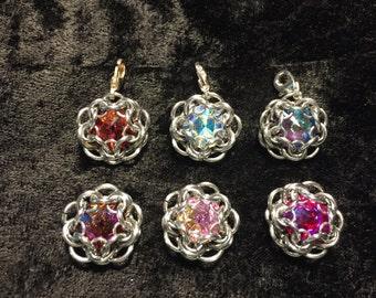 Swarovski Crystal Gem Pendant