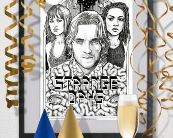 Strange Days- Alternative Movie Poster
