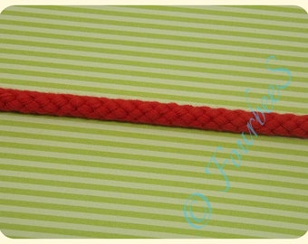 Cord 8mm Red - 1m