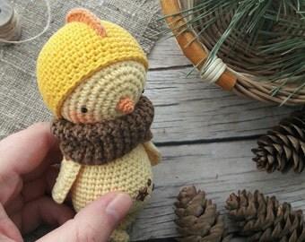 CHICK crochet pattern