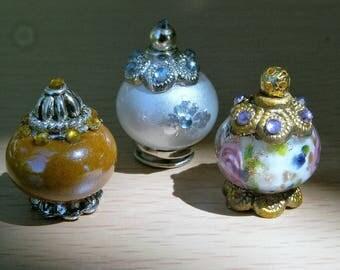Miniature Dollhouse Vase, Dollhouse Accessories, Scale 1:12, Scale one inch, Scale miniature
