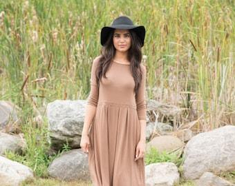 KMW Ladies Playdress, Midi Dress, Casual Dress, Modest Dress, Dress with pockets, Modest Clothing, Tznius, Midi Dress Casual,