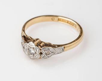 Flower & Harts sweet 16 ring