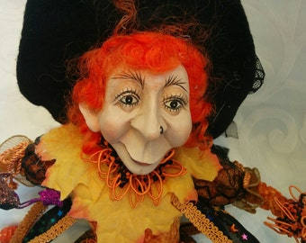 Witch Doll - Collectable, Special Handmade