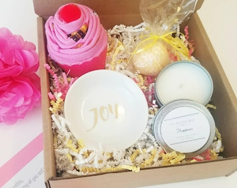 Cheer Up Gift Box. Thinking of You Gift. Sunshine Gift Basket. Break Up Gift Box. Get Well Package. Sympathy Gift Box. Bad Day Gift Box.