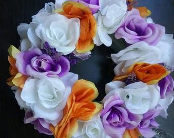 Set of 10 floral ring arrangements for Centerpieces.