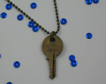 Vintage Master Key Necklace