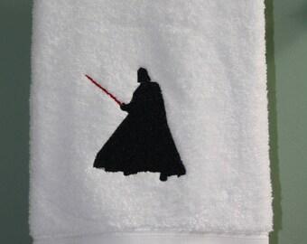 Star Wars Darth Vader Inspired Hand Towel