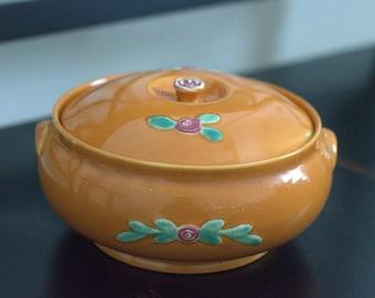 SALE*** Vintage Coors Rosebud Covered Vegetable - Ceramic Pottery
