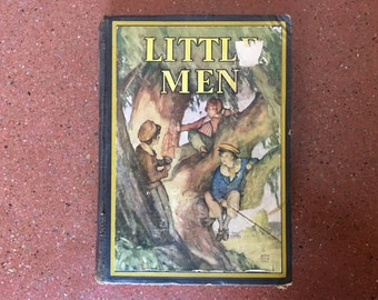 Little Men Vintage Book 1933