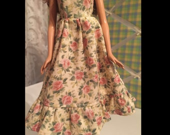 Barbie Doll Floral Sun Dress