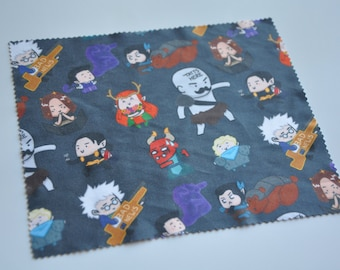 Critical Role Chibi Microfiber Cleaning Cloth