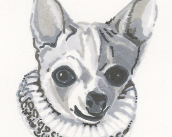 Custom Pet Portrait Small