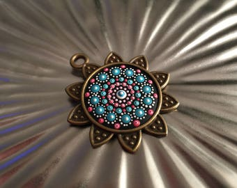 Pendant Bronze Star Mandala