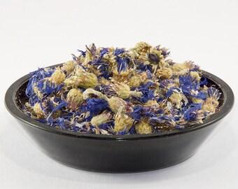 Cornflower tea, bluebottle tea, flowers tea, organic tea, Flowering tea, aromatic tea, loose leaf tea, tea gift for her, girlfriend gift