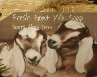 Tranquility Essential Oil Fresh Goats Milk Soap w/ Shea Butter