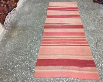 Turkish rugs runner,WoolRunner,Anatolia carpet, Runner Rugs,Anatolia runner,size=95x282cm,3.1x 9.2feet,runner kilim,