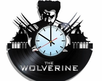 The Wolverine wall clock, The wolverine wall poster