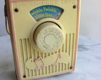 Twinkle Twinkle Little Star pocket Radio Music Box