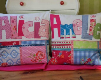 Name pillow pillow with name children's pillows