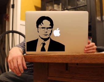 Dwight Schrute - Vinyl decal for MacBook, Ipad or Laptop