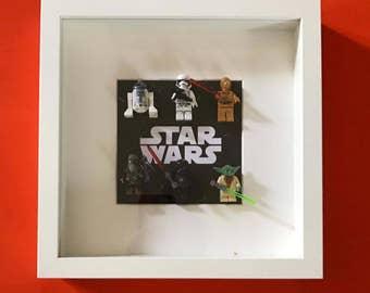 Star wars mini figure frame