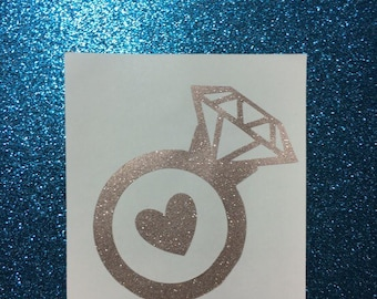 Glitter Ring Decal