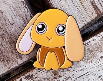 Kenken the Bunny Enamel Pin