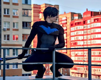 DC comic Dick Grayson Nightwing young justice cosplay