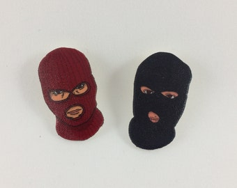 Masked Friends - Pins