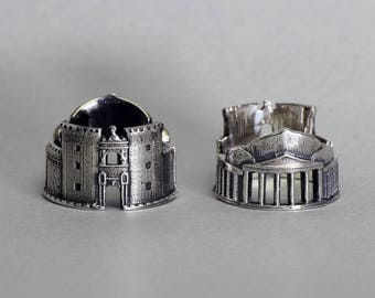 "Ring dedicated to lovers of the city of Naples ""I Love Naples"""