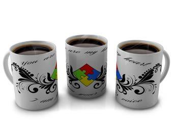 AUTISM COFFEE Mugs, coffee mugs, Autism