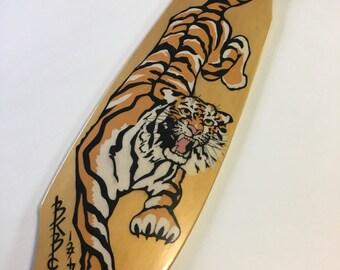 Golden Tiger Longboard