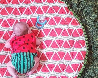 Watermelon Play Mat