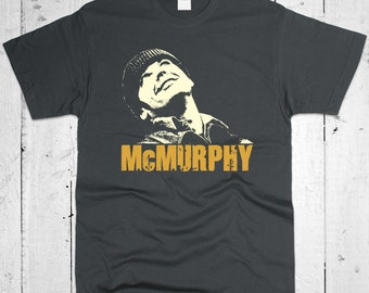 McMurphy Jack Nicholson One Flew Over The Cuckoo's Nest Men T-shirt